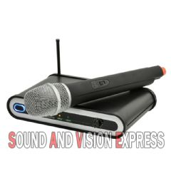 QTX Sound UH5 Handheld UHF Wireless Radio Microphone Mic System Dj Studio Live
